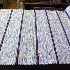 Kék-bordó csíkos szőnyeg., Otthon & Lakás, Lakástextil, Szőnyeg, Szövés, Meska