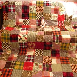 patchwork takaró, Otthon & Lakás, Lakástextil, Ágytakaró, Ez a takaró már elkelt ,megrendelésre készült. Ha tetszik és szeretnél hasonlót,írd meg ,megbeszéljü..., Meska