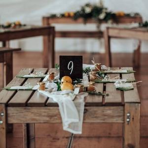 Esküvői asztalszám - Meska.hu