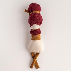 Barankababra Apró kontyos baba piciknek, Gyerek & játék, Játék, Baba játék, Baba-és bábkészítés, Mérete: kb. 20 cm, Meska