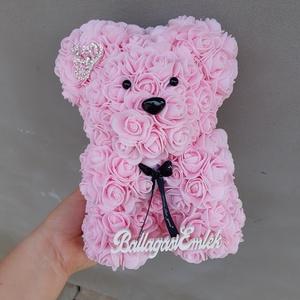 Világos rózsaszín ballagási emlék 25cm rózsa maci, Otthon & lakás, Gyerek & játék, Esküvő, Mindenmás, Egyedi Rózsa maci.\nÖrök élet.\nKülönleges életre szóló ballagási emlék.\nIdeális ajándék gyerekeknek, ..., Meska