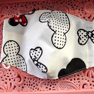 Minnie egeres textil maszk, Maszk, Arcmaszk, Varrás, Felnőtt Minnie egér textil maszk\nÁllítható, archoz igazodó.\nA vevő felelősségére sima elsőbbségi lev..., Meska