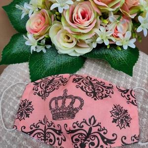 Vintage koronás textil maszk, Maszk, Arcmaszk, Varrás, Felnőtt textil maszk\nÁllítható, archoz igazodó.\nA vevő felelősségére sima elsőbbségi levélként is ké..., Meska