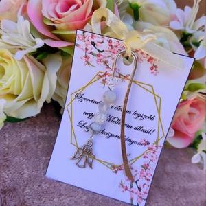 Koszorúslány felkérő könyvjelző, Esküvő, Emlék & Ajándék, Ékszerkészítés, Meska