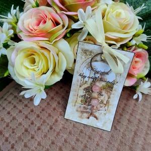 Esküvői köszönő ajándék vendégeknek, Esküvő, Emlék & Ajándék, Köszönőajándék, Ékszerkészítés, Egyedi ajándék, amit a hétköznapokban is használhat, így mindig eszébe jutnak majd az emlékek!\nEgyed..., Meska