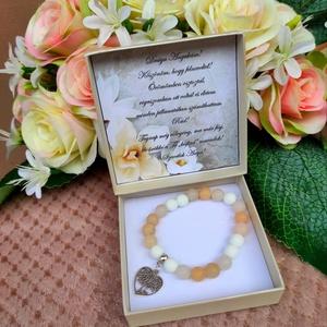 Életfás nude szülőköszöntő ásvány karkötő esküvői ajándék, Esküvő, Emlék & Ajándék, Szülőköszöntő ajándék, Életfás nude szülőköszöntő ásvány karkötő esküvői ajándék Az ár tartalmazza az ajándék dobozt! Ásván..., Meska