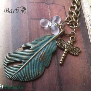 Tóparti Vakáció - antik bronz nyaklánc, Ékszer, Medálos nyaklánc, Nyaklánc, Ékszerkészítés, Meska