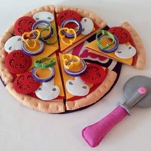 Filc ételek (pizza készítő szett), Játék, Gyerek & játék, Plüssállat, rongyjáték, Készségfejlesztő játék, Gyereknap, Ünnepi dekoráció, Dekoráció, Otthon & lakás, Varrás, Rendezz zsúrt babáidnak, harapni való finomságokkal. A kislányok egyik kedvenc elfoglaltsága főzőcsk..., Meska