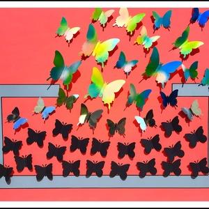 Pillangók mindenhol :-) - Meska.hu