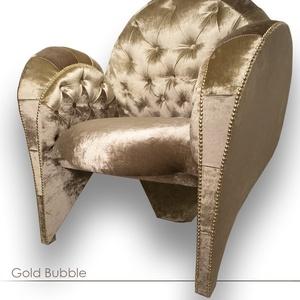 Gold Bubble Fotel, Otthon & Lakás, Bútor, Szék & Fotel, Famegmunkálás, Mindenmás, A Gold Bubble Formatervezett Fotel Jellemzői; Elegancia, kényelem, játékosság egyben.\n\nRendkívüli ap..., Meska