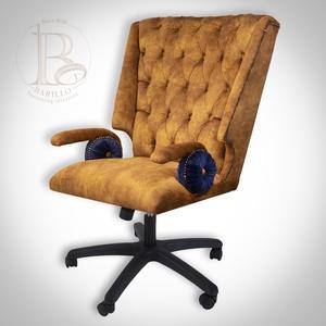Matteo Forgószék, Otthon & Lakás, Bútor, Szék & Fotel, Famegmunkálás, Mindenmás, A Matteo egy klasszikus mintából merített robosztus megjelenésű fotel, melyet forgószéknek terveztün..., Meska