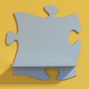 Gyerek fali polc, puzzle alakú. Többféle színben, Otthon & Lakás, Bútor, Polc, Puzzle alakú fa falipolc. Kialakítása miatt a polcok könnyen bővíthetők. Ideális választás gyerekszo..., Meska