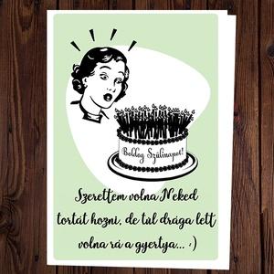 különleges szülinapi képeslapok Szülinapi képeslap   Különleges, vicces képeslap (BBdesign)   Meska.hu különleges szülinapi képeslapok