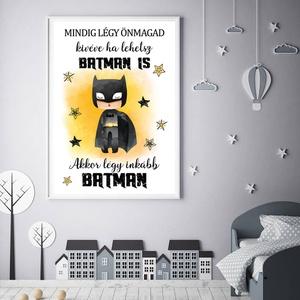 Batman - szuperhős gyerek és babaszoba fali dekoráció, fali kép A3 méretben keret nélkül, Gyerek & játék, Gyerekszoba, Baba falikép, Dekoráció, Otthon & lakás, Fotó, grafika, rajz, illusztráció, Papírművészet, Batman - szuperhős gyerek és babaszoba fali dekoráció, fali kép A3 méretben keret nélkül\n\nAz ár 1 db..., Meska