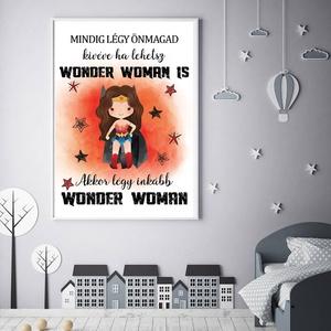 Wonder woman - szuperhős gyerek és babaszoba fali dekoráció, fali kép A3 méretben, Gyerek & játék, Gyerekszoba, Baba falikép, Dekoráció, Otthon & lakás, Fotó, grafika, rajz, illusztráció, Papírművészet, Wonder Woman - szuperhős gyerek és babaszoba fali dekoráció, fali kép A3 méretben.\n\nAz ár 1 db képre..., Meska