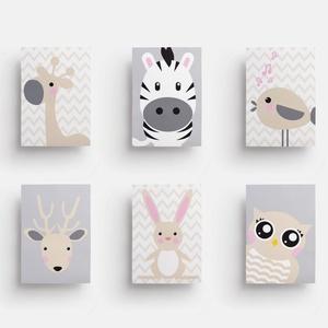 Babaszoba fali dekoráció, állatos - zsiráf, zebra, madárka, szarvas, nyuszi, bagoly -  fali kép A4 méretben, keret nélkü, Gyerek & játék, Gyerekszoba, Baba falikép, Otthon & lakás, Dekoráció, Fotó, grafika, rajz, illusztráció, Papírművészet, Babaszoba fali dekoráció, állatos - zsiráf, zebra, madárka, szarvas, nyuszi, bagoly -  fali kép A4 m..., Meska