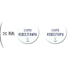 Keresztszülő felkérő lap - Sorsjegy hatású lekaparható szívvel , bohó erdei állatos stílusban + kitűzővel (BBdesign) - Meska.hu