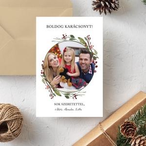 Karácsonyi fényképes képeslap - Karácsonyi ajándék, fényképes képeslap, egyoldalas, Otthon & Lakás, Papír írószer, Képeslap & Levélpapír, Fotó, grafika, rajz, illusztráció, Papírművészet, Karácsonyi fényképes képeslap - Karácsonyi ajándék, fényképes képeslap, egyoldalas\n\nA  lap mérete: 1..., Meska