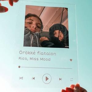 Spotify Glass A/5, Otthon & Lakás, Dekoráció, Dísztárgy, Üvegművészet, Fotó, grafika, rajz, illusztráció, Személyre szabható Spotify Glass, bármilyen közös fótóval, zenével, dátummal.\nAz ár egy üveglapot vá..., Meska