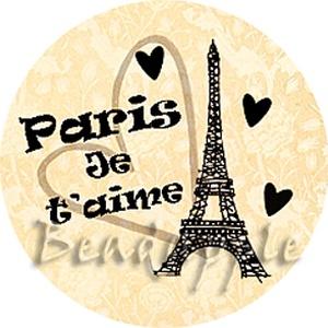Paris, Je t'aime (beaDapple) - Meska.hu