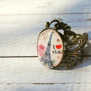 I love Paris szett (beaDapple) - Meska.hu