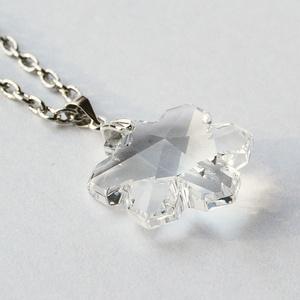 Swarovski hópehely szett- Crystal (beaDapple) - Meska.hu