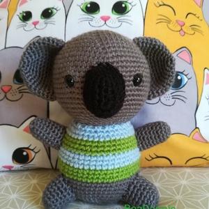 Brúnó, a koala, Játék & Gyerek, Maci, Plüssállat & Játékfigura, Brúnó egy csupaszív, ölelgetnivaló való kis koala maci, aki alig várja, hogy valaki legjobb barátja ..., Meska