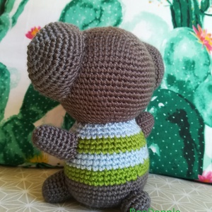 Brúnó, a koala (beaDapple) - Meska.hu