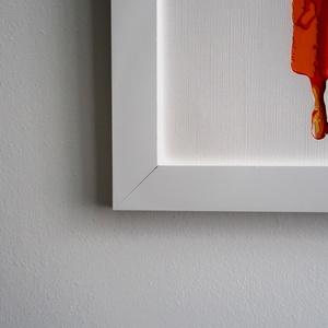 Vintage Fashion Fali Dekor Kalapos Nő Fali Dísz Kézzel Vágott Narancssárga Színes Papírból A4es Kép 34x26cm Keret (beardyart) - Meska.hu