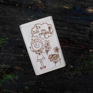 Személyre szabható fa burkolattal ellátott pendrive USB gravírozott - INGYENES SZÁLLÍTÁSSAL! (Beecreative) - Meska.hu