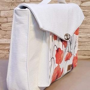 Női laptop táska, Táska, Divat & Szépség, Táska, Laptoptáska, Varrás, Női laptop táska, melyben biztonságosan, bélelve szállíthatja laptopját, melyet külön tépőzárral is ..., Meska