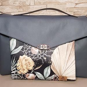 Női laptop táska, Táska & Tok, Laptop & Tablettartó, Laptoptáska, Varrás, Ez a laptop táska igazán egyéniséget és nőiességet áraszt. A standard feketét már untuk, ezért megál..., Meska