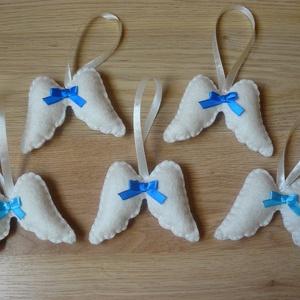 Filc angyalszárnyak (kék) (bejus) - Meska.hu