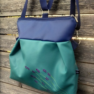 Levendulás 3in1 táska hátizsák  (belinbolt) - Meska.hu