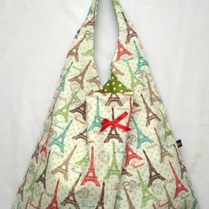 Párizs, Eiffel torony, Kifordítható táska (belinbolt) - Meska.hu