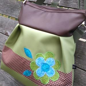 Zöld-barna 3in1 hátizsák rendelhető (belinbolt) - Meska.hu