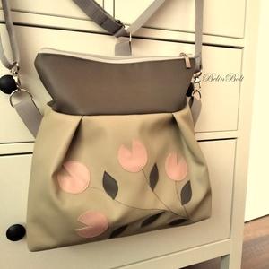 3in1 drapp tulipános táska (belinbolt) - Meska.hu