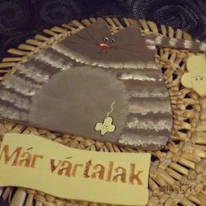 Cicás ajtódísz (belladekor) - Meska.hu