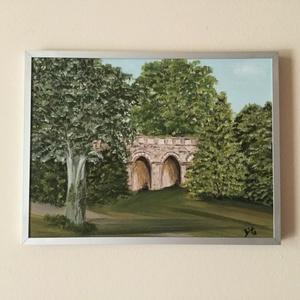 Viadukt  - művészet - festmény - olajfestmény - Meska.hu