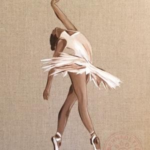 Ballet dancer, oil , Otthon & lakás, Dekoráció, Képzőművészet, Kép, Festmény, Olajfestmény, Lakberendezés, Falikép, Festészet, Festett tárgyak, Olajfestmény, A3-as méret (30x40 cm), kiváló minőségű belga feszített lenvásznon.\nBallet dancer, oil..., Meska