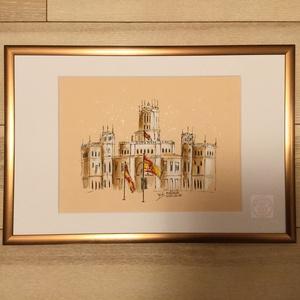 Madrid (eredeti akvarell) - Meska.hu