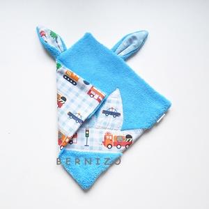 Kék trafficjam szundikendő (Bernizo) - Meska.hu
