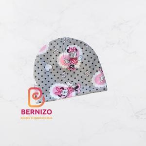 Minnie mouse sapka, Ruha & Divat, Babaruha & Gyerekruha, Babasapka, Vagány beanie sapka egyrétegű anyagból. Kellemes viselet átmeneti öltözékként használható.  Anyagöss..., Meska