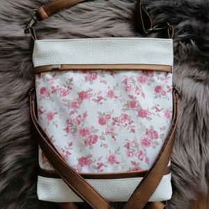 Textilbőr táska, Válltáska, Kézitáska & válltáska, Táska & Tok, Varrás, Új termék! Méretében is! :) \n4in1-ben textilbőr táska. \nA 3 db, állítható hosszúságú pántjának köszö..., Meska