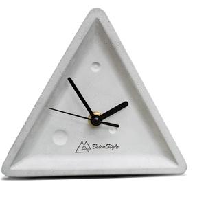 BERMUDA beton asztali óra, Falióra & óra, Dekoráció, Otthon & Lakás, Mindenmás, Kőfaragás, 100% beton óra, alumínium mutatókkal. Ebben az órában is bízhatsz: nem tűnik el sem ő, sem az idő. N..., Meska