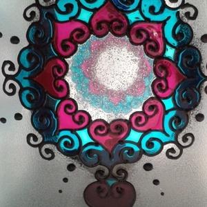 Mandala viharlámpa (Betti) - Meska.hu