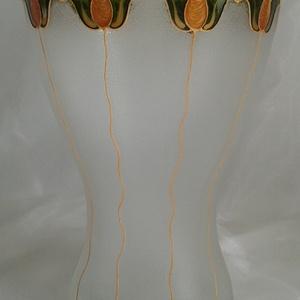 Tulipános váza (Betti) - Meska.hu