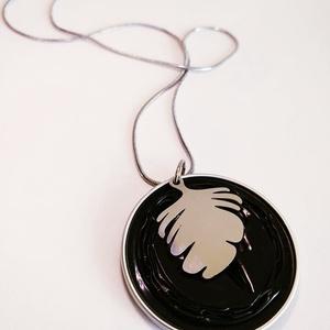Ginko Steel Symbol kollekció - kapszula nyaklánc, Ékszer, Medálos nyaklánc, Nyaklánc, Ékszerkészítés, Újrahasznosított alapanyagból készült termékek, Meska