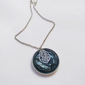 Ezüst Könny Steel Symbol kollekció - kapszula nyaklánc, Ékszer, Medálos nyaklánc, Nyaklánc, Ékszerkészítés, Újrahasznosított alapanyagból készült termékek, Meska