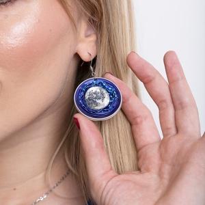 Bon-Bon kapszula fülbevaló, Ékszer, Lógós kerek fülbevaló, Fülbevaló, Ékszerkészítés, Újrahasznosított alapanyagból készült termékek, Meska